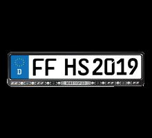 Fast & Furious: Hobbs & Shaw - Kennzeichenhalter