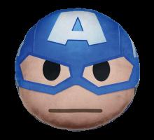 Dekokissen Marvel-Emoji: Captain America