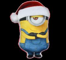 Minions - Weihnachtskissen Stuart