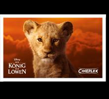 Onlinegutschein König der Löwen
