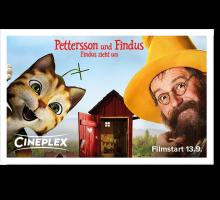 Onlinegutschein Pettersson & Findus: Findus zieht um