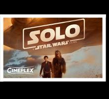 Onlinegutschein Solo: A Star Wars Story