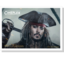 Onlinegutschein Pirates of the Caribbean