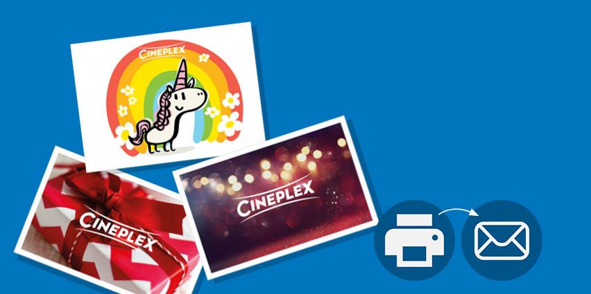 Cineplex Sofortgutscheine zum herunterladen